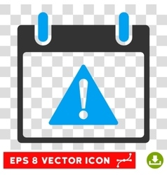 Warning Calendar Day Eps Icon vector