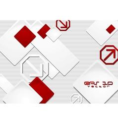 Elegant tech background vector image vector image