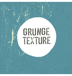 grunge texture template vector image vector image