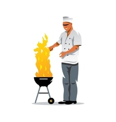 Chef Cartoon vector image