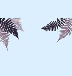 fern leaf background vector image