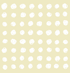 paint dots seamless pattern vector image
