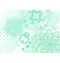 Sacred geometry backdrop vector