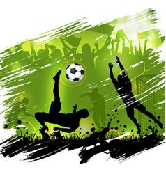 soccer championship poster vector image