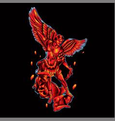 Archangel heaven vector