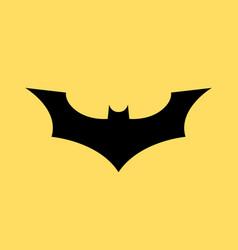 Batman logo concept icon bat man dark vector