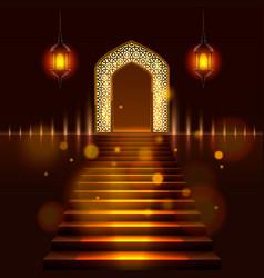 Cover of ramadan kareem vector