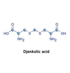 Djenkolic acid molecule vector