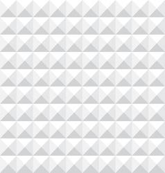 Geometric White Seamless Pattern vector image
