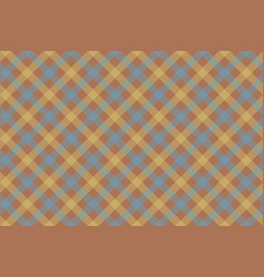Gray brown check diagonal fabric texture vector