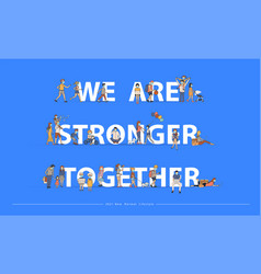We are stronger together with new normal vector