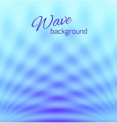 Blue abstract smooth light background vector image