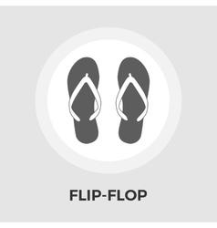 Flip-Flop Line Icon vector image vector image