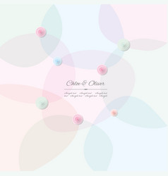 abstract pattern background in pastel colors with vector image vector image