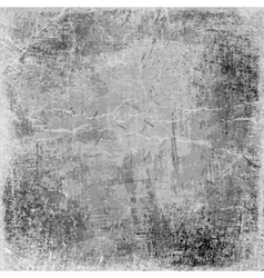 gray grunge background old texture vector image