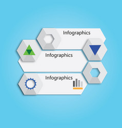 Banner or chart for web design vector