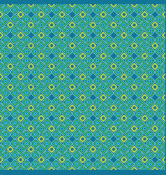 geometrical ornament in aztec style vector image