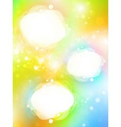 bright copyspace frames vector image