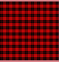 Christmas new year tartan pattern scottish cage vector