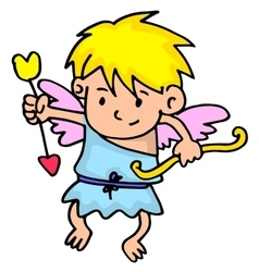 Cupid collection stock vector