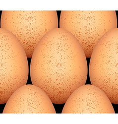 Eggs seamless pattern ver2 vector image