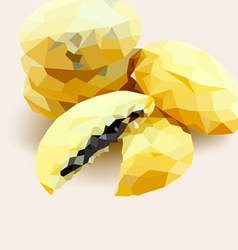 Poly cookie vector