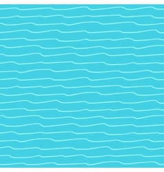 Seamless pattern with waves texture vector image