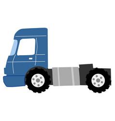Road truck vector