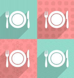 Menu icon on colorful backgrounds vector image vector image