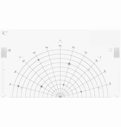 technology futuristic hud interface abstract vector image