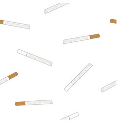 cigarette original and light flavour seamless vector image vector image