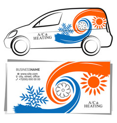 Air coding and home heating and cooling system vector