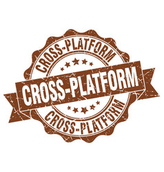 Cross-platform stamp sign seal vector