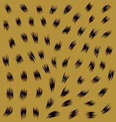 Skin of leopard vector