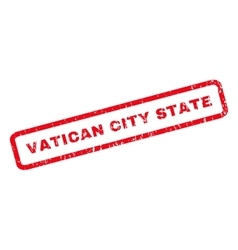 Vatican city state rubber stamp vector