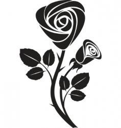Vector rose art illustration vector