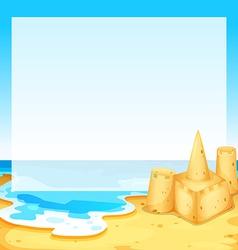 View beach vector