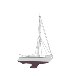 Water Boat Sailboat vector image