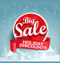 concept of discount vector image