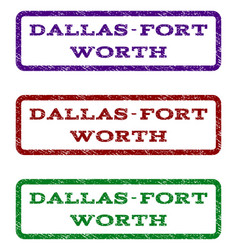 Dallas-fort worth watermark stamp vector