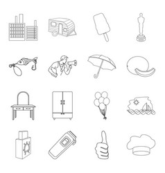 Fitness travel fishing and other web icon in vector