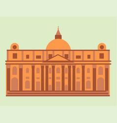 royal palace tourism travel design famous building vector image vector image