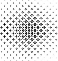 Black and white abstract polygon pattern design vector image