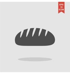 bread icon Design style eps 10 vector image
