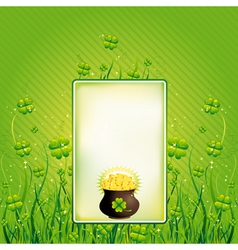 Card for St Patricks Day vector