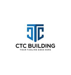 Ctg modern sign vector