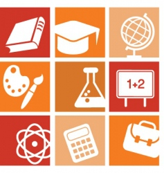 education learning vector image