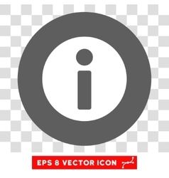 Information Round Eps Icon vector