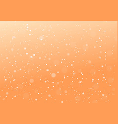 orange abstract dotted background vector image