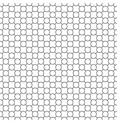 Round simple pattern seamless diagonal vector